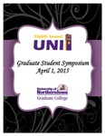 Eighth Annual UNI Graduate Student Symposium [Program], 2015 by University of Northern Iowa