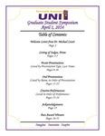 Seventh Annual UNI Graduate Student Symposium [Program], 2014