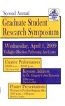 Second Annual Graduate Student Research Symposium [Program], 2009