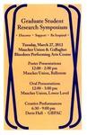 Fifth Annual Graduate Student Research Symposium [Program], 2012