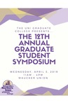 Twelfth Annual Graduate Student Symposium [Program], 2019 by University of Northern Iowa.