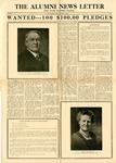 The Alumni News Letter, v11n1 [v10n1], January 1, 1926