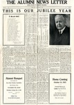 The Alumni News Letter, v9n4, October 1, 1925