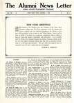The Alumni News Letter, v8n1, January 1, 1924 by Iowa State Teachers College