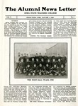 The Alumni News Letter, v5n1, January 1, 1921