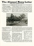 The Alumni News Letter, v3n3, July 1, 1919 by Iowa State Teachers College