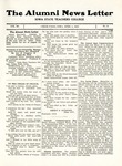 The Alumni News Letter, v3n2, April 1, 1919 by Iowa State Teachers College