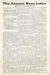 The Alumni News Letter, v2n2, April 1, 1918