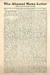 The Alumni News Letter, v2n1, January 1, 1918