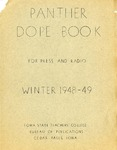 Panther Dope Book for Press and Radio Winter 1948-49 by Iowa State Teachers College