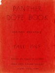Panther Dope Book for Press and Radio Fall 1949 by Iowa State Teachers College