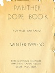 Panther Dope Book for Press and Radio Winter 1949-50 by Iowa State Teachers College