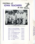 Iowa State Teachers 1953 Football Dopebook by Iowa State Teachers College