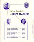 Iowa State Teachers 1954 Football Dopebook by Iowa State Teachers College
