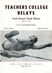 Teachers College Relays 1956