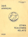 Iowa Teachers Relays 1959 by Iowa State Teachers College