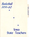 Basketball 1959-60 by Iowa State Teachers College
