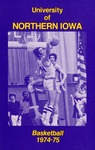 Basketball 1974-75 by University of Northern Iowa