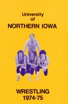 Wrestling 1974-75 by University of Northern Iowa