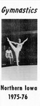 Gymnastics Northern Iowa 1975-76 by University of Northern Iowa