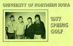 1977 Spring Golf by University of Northern Iowa