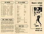 Women's Softball 1978 by University of Northern Iowa