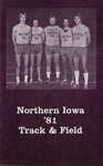 Northern Iowa '81 Track & Field by University of Northern Iowa