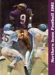 Northern Iowa Football 1981 by University of Northern Iowa