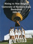 University of Northern Iowa Basketball 1981-82 by University of Northern Iowa