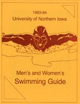 1983-84 Men's and Women's Swimming Guide by University of Northern Iowa