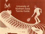 University of Northern Iowa Tennis Guide 1984 by University of Northern Iowa