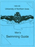 1984-85 Men's Swimming Guide