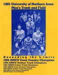 1985 University of Northern Iowa Men's Track and Field by University of Northern Iowa