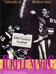 1986 Panther Football by University of Northern Iowa