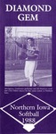 Northern Iowa Softball 1988