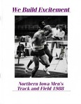 Northern Iowa Men's Track and Field 1988 by University of Northern Iowa