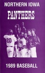 Northern Iowa Panthers 1989 Baseball by University of Northern Iowa