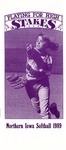 Northern Iowa Softball 1989 by University of Northern Iowa