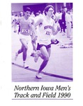 Northern Iowa Men's Track and Field 1990 by University of Northern Iowa