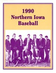 1990 Northern Iowa Baseball by University of Northern Iowa