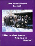 1991 Northern Iowa Baseball by University of Northern Iowa