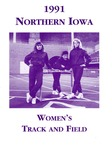 1991 Northern Iowa Women's Track and Field by University of Northern Iowa