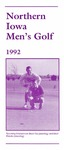 Northern Iowa Men's Golf 1992 by University of Northern Iowa