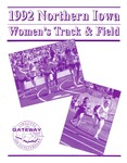 1992 Northern Iowa Women's Track and Field by University of Northern Iowa