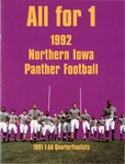 1992 Northern Iowa Panther Football by University of Northern Iowa