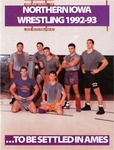 Northern Iowa Wrestling 1992-93 by University of Northern Iowa