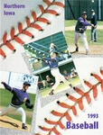 Northern Iowa 1993 Baseball by University of Northern Iowa