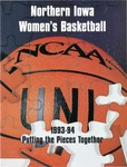 Northern Iowa Women's Basketball 1993-94 by University of Northern Iowa