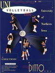 UNI Volleyball 1995 by University of Northern Iowa