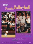 1996 Panther Volleyball by University of Northern Iowa